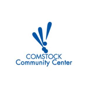 comstock community center logo
